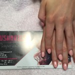Dusty Pink Gel Nails, Lush Nails