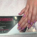 Solid Light Purple Gel Nails, Lush Nails